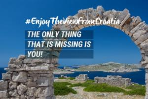 Show tourists the most beautiful views #EnjoyTheViewFromCroatia