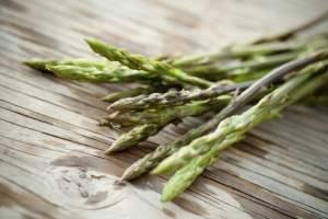 Wild plants and asparagus