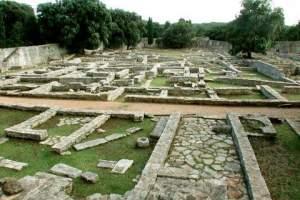 The Roman country villa in the Verige Bay