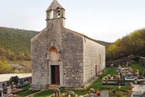 The Church of St. Mary of Lakuć in Dvigrad