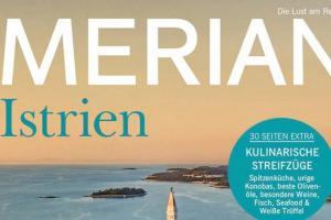 Special German edition MERIAN Istrien