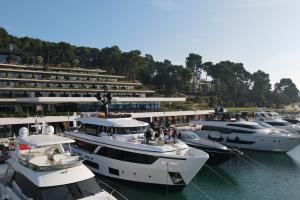 The Unique Vessels Presentation in ACI Marina Rovinj