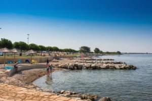 Central beach Park Umag