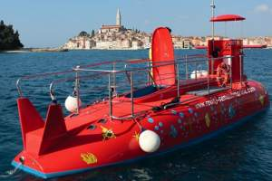 Semi - submarine in Rovinj