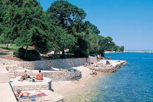 Oliva beach on island st Nikola