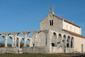 The Basilica of St. Foska (Barbariga)
