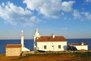 The lighthouse of Cape Marlera