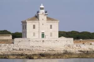 The lighthouse of Cape Peneda