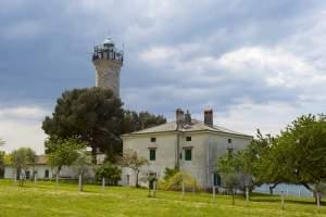 The lighthouse of Cape Savudrija