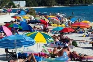 Valbandon's beach