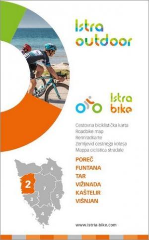 Istra Bike: Poreč | Cestovna biciklistička karta