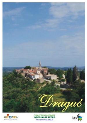 Draguć: Touristenkarte