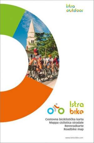 Istra Bike: Mappa ciclistica stradale