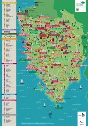Istra Culture: Mappa