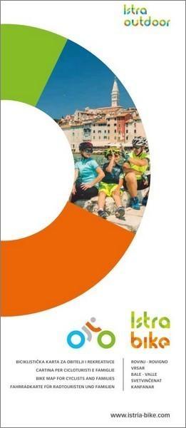 Istra Bike: Fahrradkarte fur Radtouristen und Familien