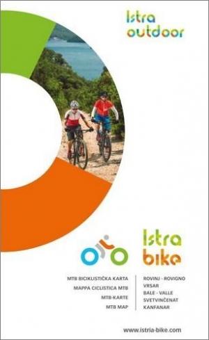 Istra Bike: MTB biciklistička karta