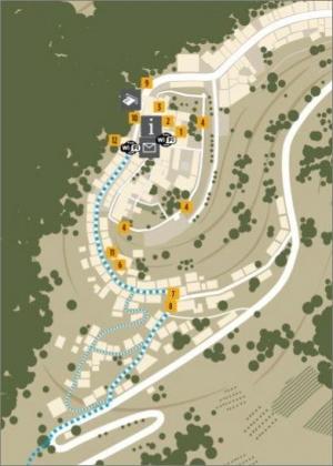 Motovun: Stadtplan