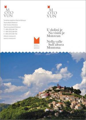 Motovun: Tourist map