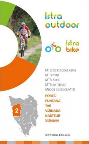 Istra Bike: Poreč | MTB biciklistička karta