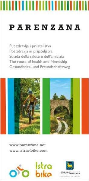 Istra Bike: Parenzana, mappa