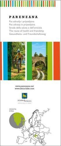 Istra Bike: Parenzana, map