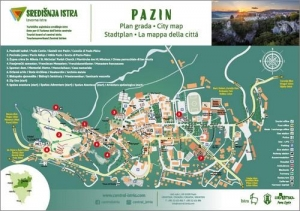 Pazin: City map