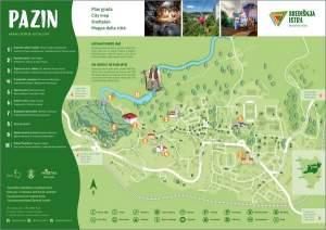 Pazin: Stadtplan