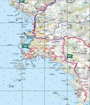 Istra Bike: Rovinj, map
