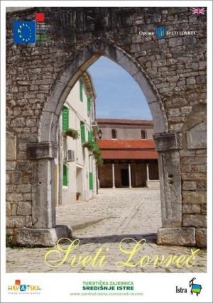 Sveti Lovreč: Touristenkarte