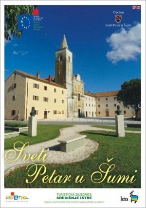 Sveti Petar u Šumi: Tourist map