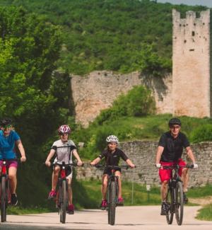 MTB bicycle ride Kanfanar