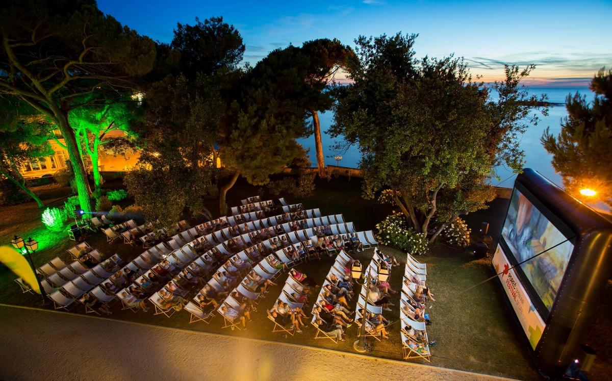 Porec Open Air Cinema