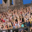 The football spectacle in the amphitheatre of Pula delighted the audience