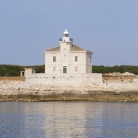 The lighthouse of Cape Peneda