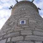 The lighthouse of Porer cliff