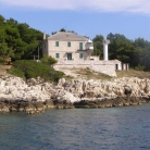 The lighthouse of Cape Crna Punta