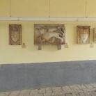Zwei Stadttore in Motovun