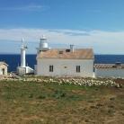 The lighthouse of Cape Marlera